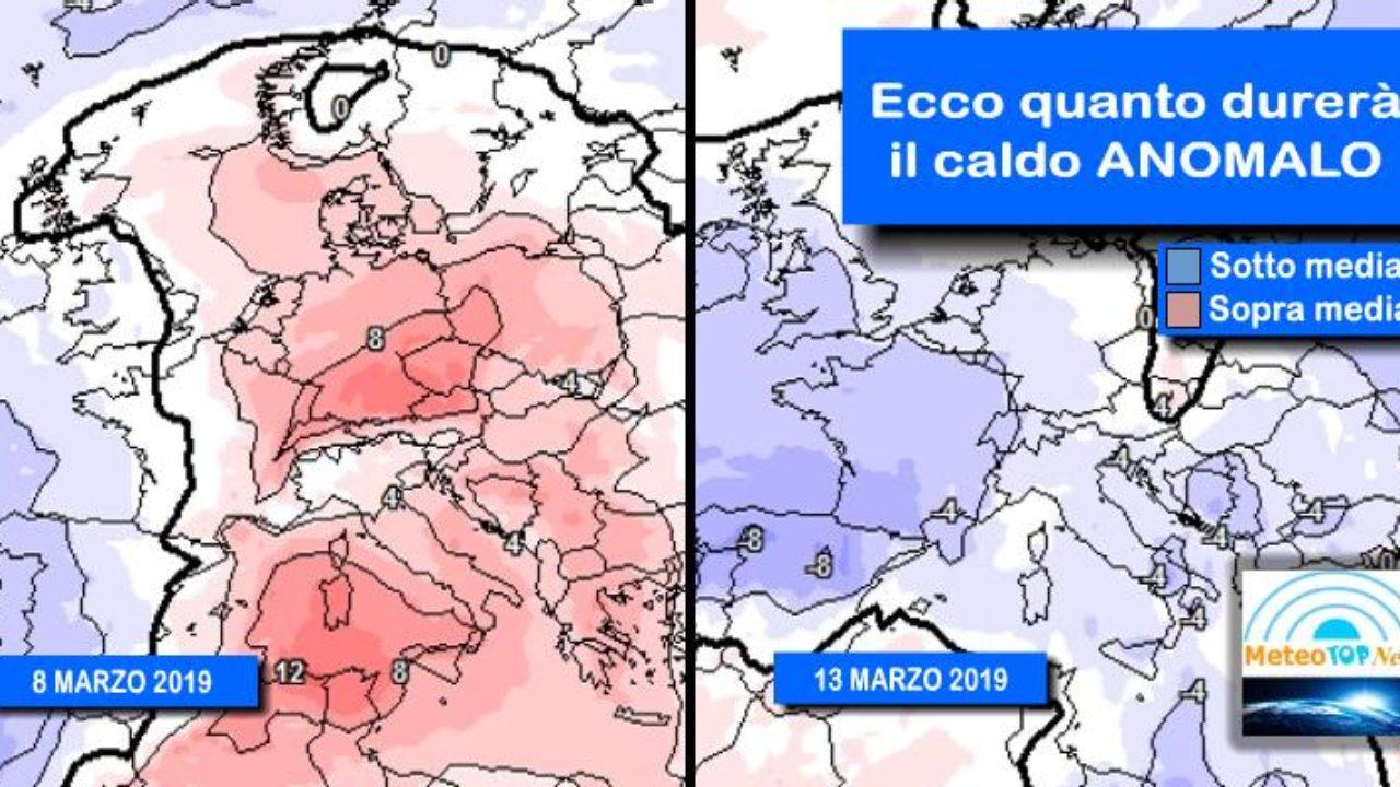 Il Freddo Quando Arriva meteo: temperature, continua il caldo anomalo. ma quando